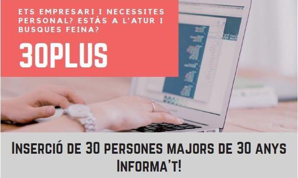Un total del 30 persones troben feina gràcies al programa 30 PLUS de Tarragona Impulsa