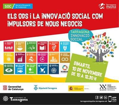 Tarragona Impulsa organitza una jornada sobre innovació social i objectius de desenvolupament sostenible