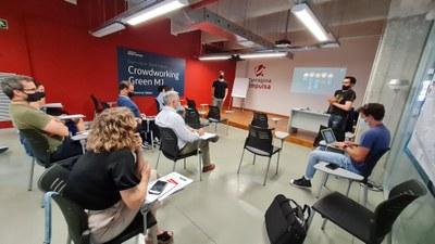 Tarragona Open Future presenta dos projectes accelerats al programa: eAgora i Urban Resilience